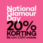National Glamour Day 2019: alle kortingen en informatie