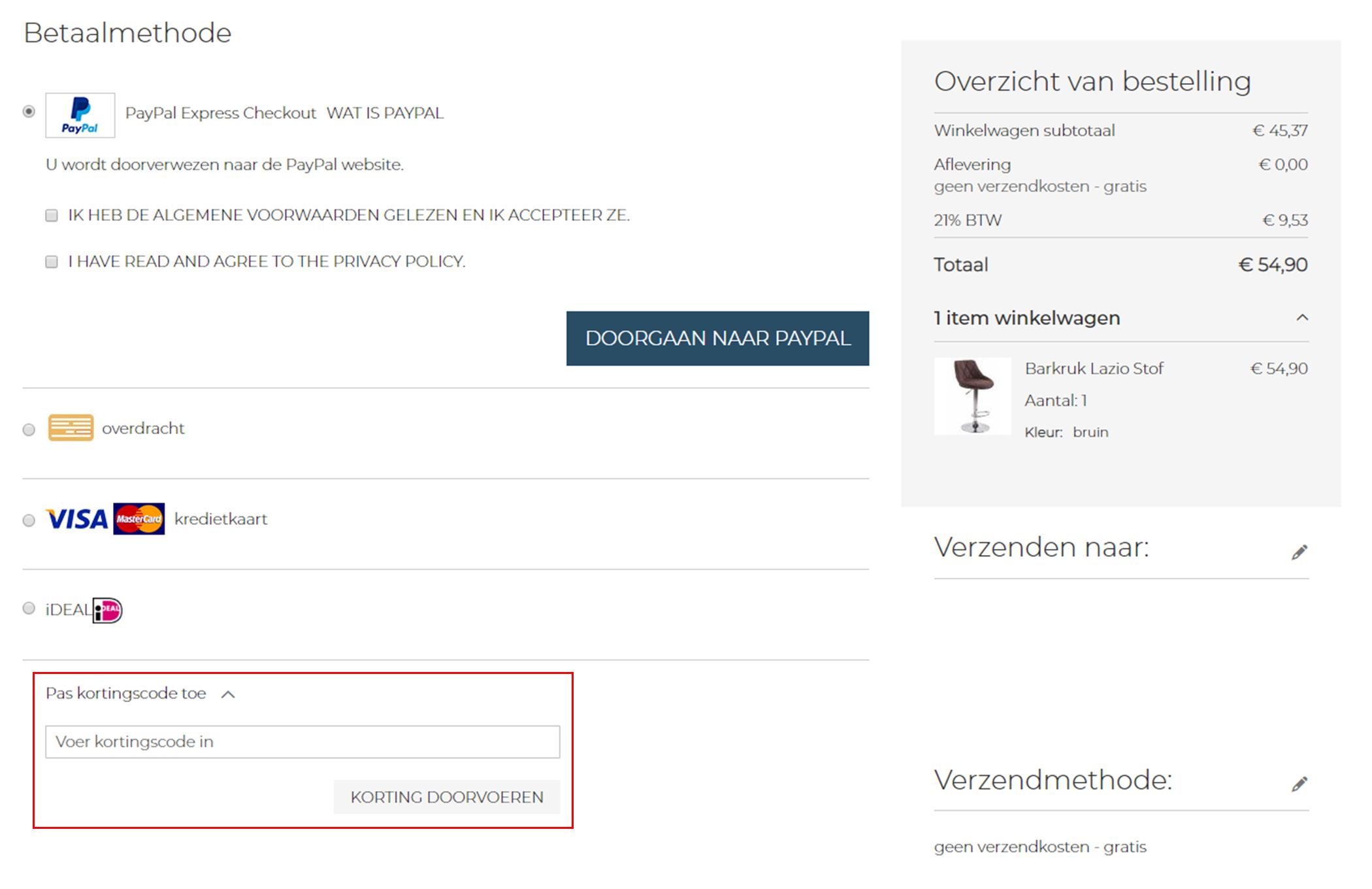 Barkrukken.nl kortingscode gebruiken