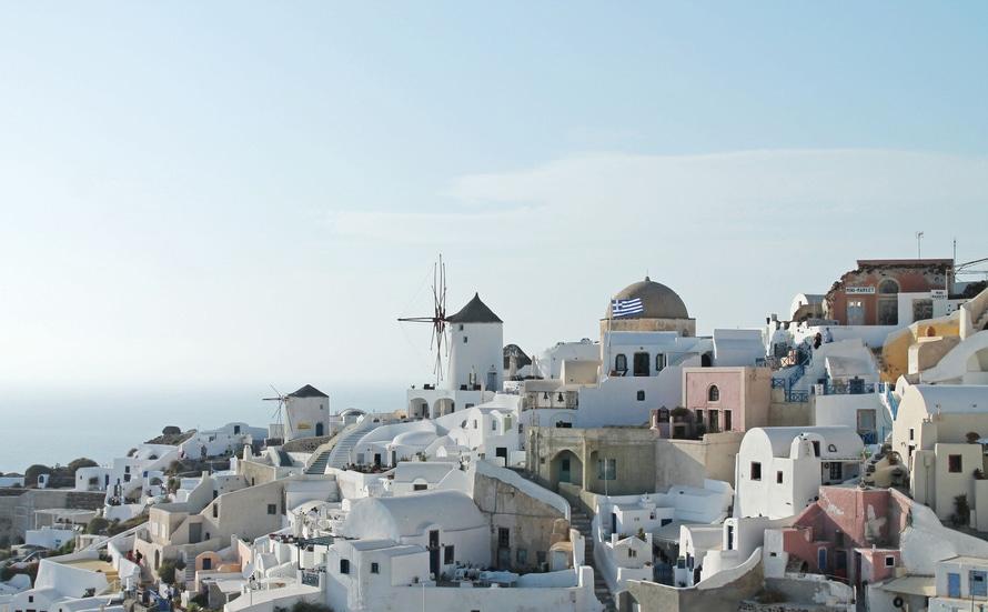 Grieks dorpje