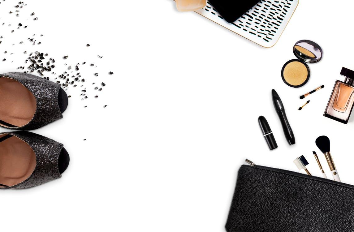 schoenen en make-up