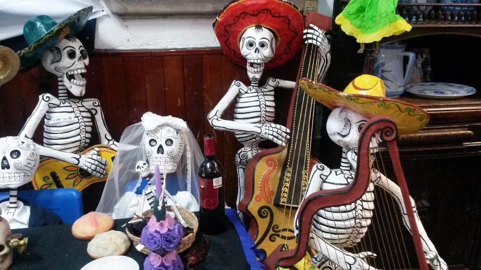 Halloween skeletten