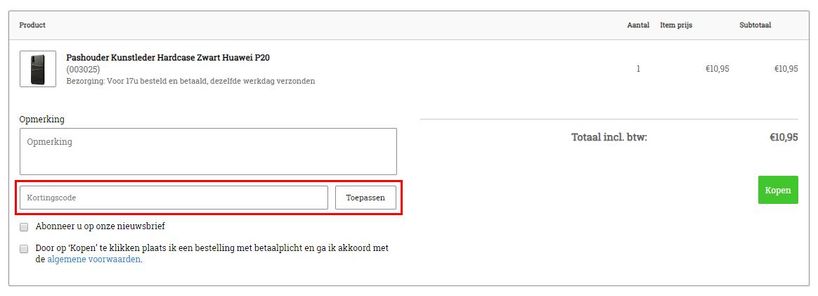 iParts4u kortingscode gebruiken