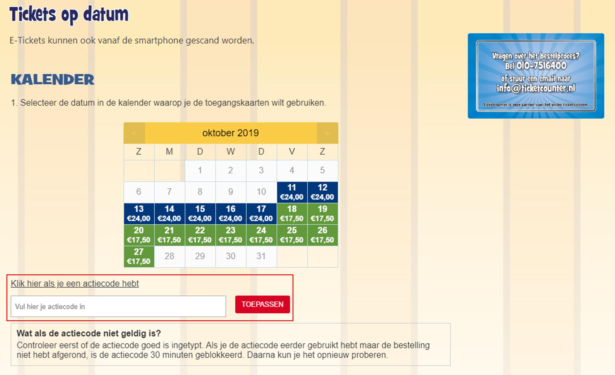 Julianatoren kortingscode gebruiken