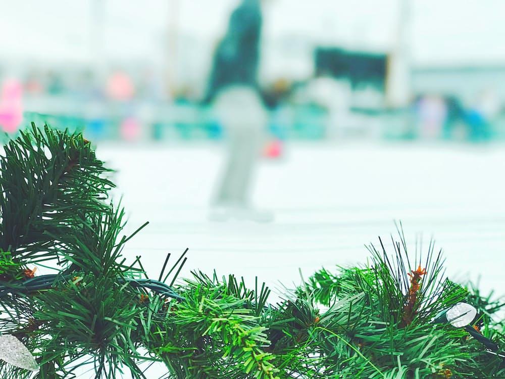 Kerstmarkt ijsbaan