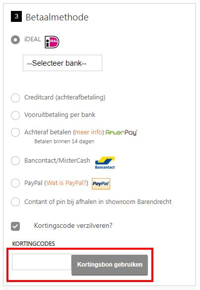 Kluizen.nl kortingscode gebruiken