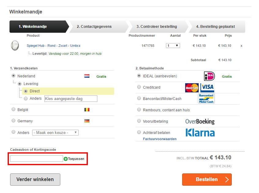 LiL.nl kortingscode gebruiken