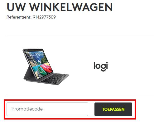 Logitech kortingscode gebruiken
