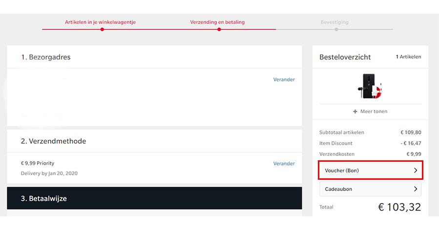 OnePlus kortingscode gebruiken