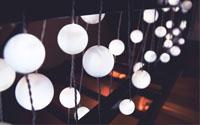 Over Cotton Ball Lights