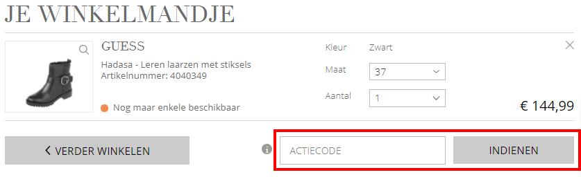 Peek en Cloppenburg kortingscode gebruiken