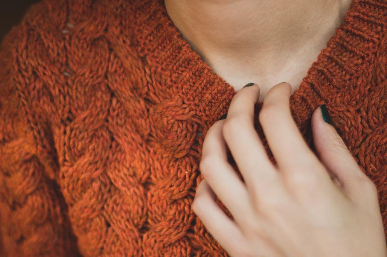 Vrouw met trui