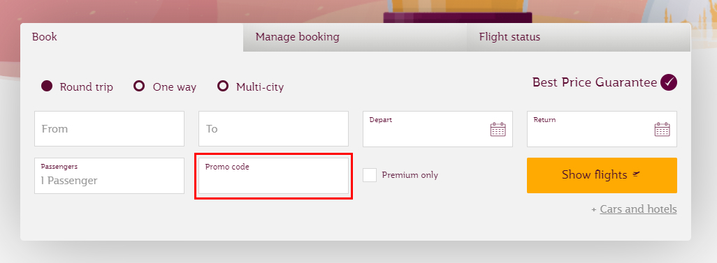 Qatar Airways kortingscode gebruiken