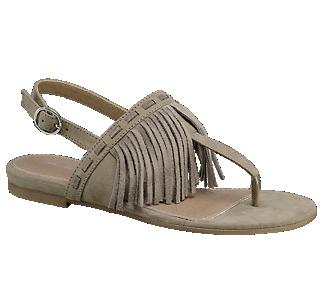 Sandaal met franje