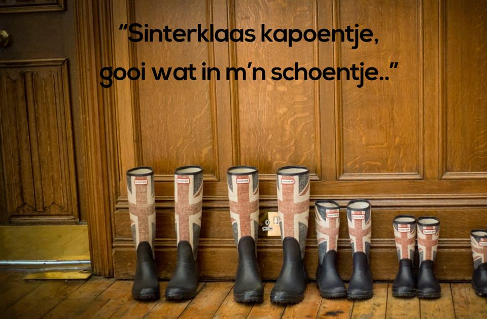 Sinterklaas schoen