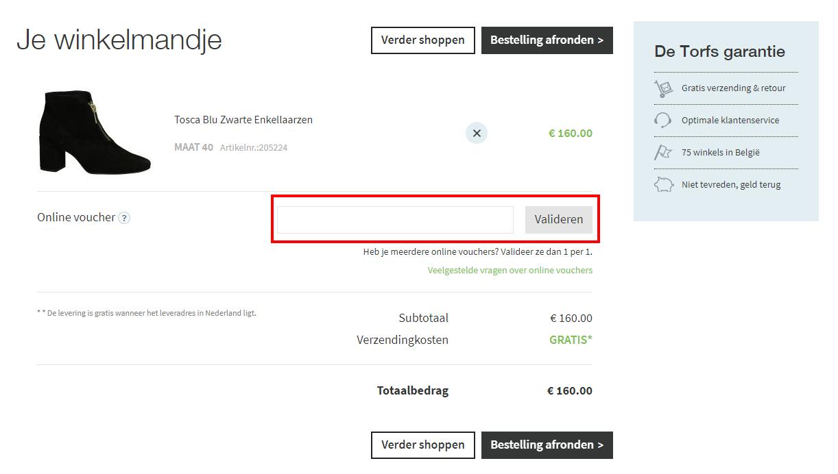 c576b506e61 Met korting schoenen shoppen op Torfs.nl? Dat kan als er een kortingscode  actief is. Hoe je zo'n kortingscode moet toevoegen zodat jij extra korting  pakt, ...