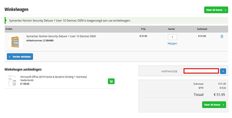 Update.nl kortingscode gebruiken