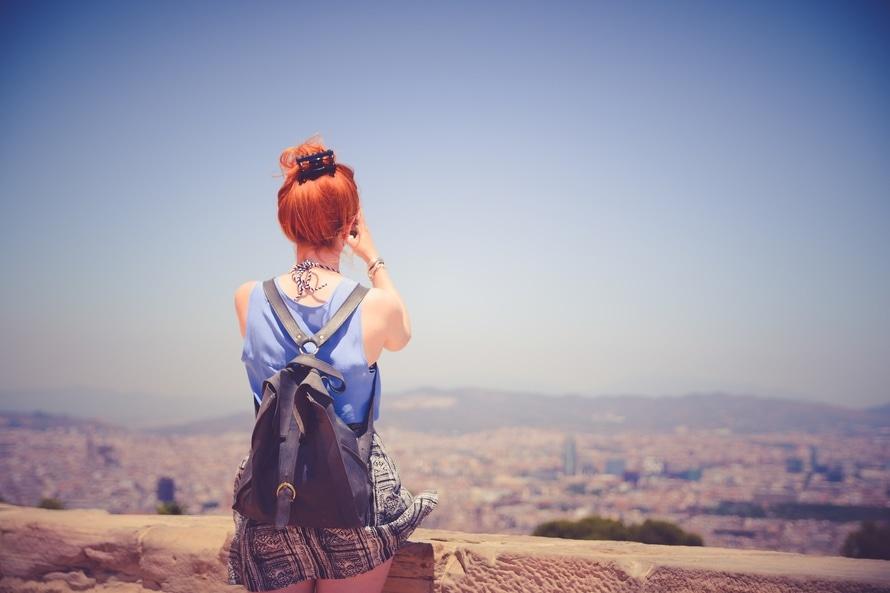 Uitzicht stad