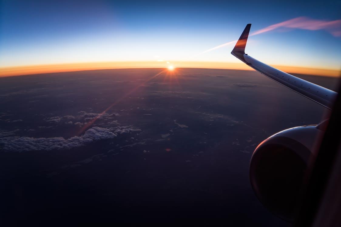 Vliegtuig lucht