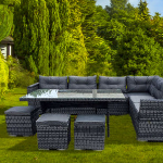 Marktplaats aanbieding: profiteer van 60% korting op een luxe lounge- en eetset voor de tuin