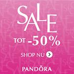 Tot 50% korting in de Summer Sale bij Pandora