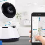 Bestel een Smart WiFi IP camera met 75% korting bij Vouchervandaag