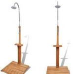 Groupon   Koop een houten tuindouche met 45% korting