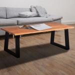 Bestel nu met 62% korting een acaciahouten salontafel | iChica