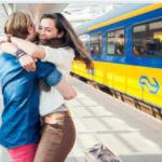 Bespaar 61% op een set van 2 NS treinkaartjes bij ActievandeDag