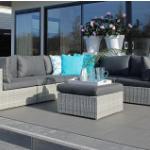 Bespaar nu 42% op de Loungeset XL Alicante White Grey van Fonteyn