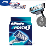 Koop nu Gillette Mach scheermesjes met 57% korting bij Groupactie
