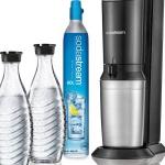 Scoor nu een SodaStream bruiswatertoestel Crystal met 19% korting + 2 karaffen