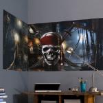 Muurmode geeft 50% korting op een The Pirates of the Caribbean The Black Pearl muurposter