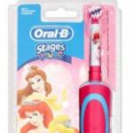 Tandonline geeft maar liefst 48% korting op een Oral-B Stages Power Kids Princess tandenborstel