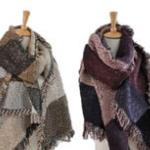 ActievandeDag   Profiteer van 71% korting op een trendy warme sjaal van pashmina en wol