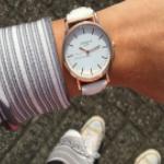 Pak nu 73% korting op een horloge met lederen band   ActievandeDag