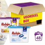 Bestel bij GroupDeal Robijn duo wasmiddel capsules met 45% korting