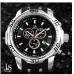 Profiteer van 75% korting op een Joshua & Sons Swiss Quartz Chronographs bij Watch2Day