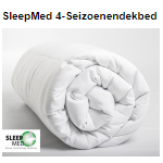Profiteer bij Telegraaf van 70% korting op een SleepMed 4-seizoenendekbed