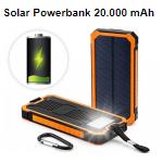 Ontvang 65% korting op een Solar powerbank bij Telegraaf