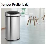 Bestel bij Telegraaf een sensor prullenbak met 65% korting