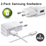 Bestel een 2-pack Samsung snelladers bij Telegraaf met 60% korting