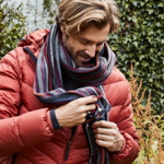 30% korting bij ANWB op een donsjack voor mannen