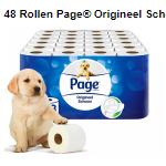 Bestel 48 rolen Page toiletpapier bij Telegraaf met 55% korting