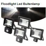 Scoor bij Telegraaf Floodlight led buitenlampen met 45% korting