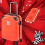 Bestel een Princess koffer van The Voice met 60% korting bij GroupDeal