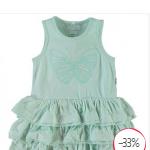 Je koopt dit schattige Name It jurkje in drie verschillende kleuren met 33% korting bij Mama & Kids