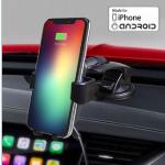 Bestel een smartphonehouder met Qi-oplader nu met 70% korting
