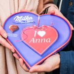 Voor maar €14,95 scoor je nu een Milka chocoladehart bij YourSurprise
