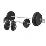 Train je spieren met een halterset 100 kg van Gorilla Sports voor slechts €134,95