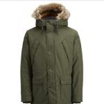 Bestel bij Brandeal een winterjas van Jack & Jones met 75% korting